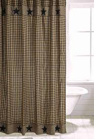 black applique star shower curtain allysons place