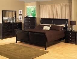 King Size Leather Sleigh Bed Modern Sleigh Bedroom Sets Foter