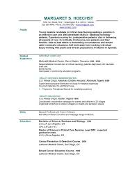 An Example Of Resume by Resume Examples Example Of Resume By Easyjob The Best Free