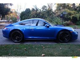 Porsche 911 Blue - 2015 porsche 911 carrera 4 coupe in sapphire blue metallic photo