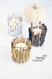 halloween votive candle holders diy twig votive candle holders diy candle holders peeinn com