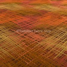 milano collection bronze orange colours in abstract pattern