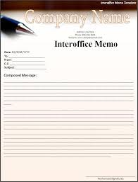 word memo templates