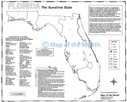 State Map Of Florida With Cities by Florida Map Maps For The Classroom
