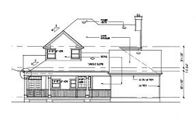 Floor Plans And Elevations Of Houses The Liberty Hill 5770 3 Bedrooms And 2 Baths The House Designers