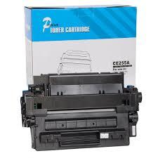 Famosos Toner compatível CE255A 55A preto HP Laserjet P3015 M525 M521  #LU15