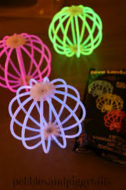 glow in the decorations glow in the kids birthday party blissful