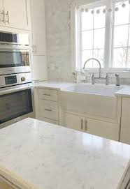 what color quartz with white cabinets how to choose the right white quartz for kitchen countertops