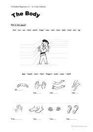 body parts worksheet free esl printable worksheets made by teachers