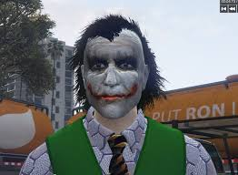 halloween costumes joker dark knight the joker from dark knight gta5 mods com