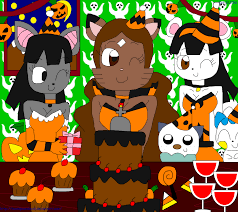 halloween happy birthday pictures happy halloween birthday samantha part 1 by teamlpsandacnl on