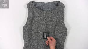 make a dress how to make a lined sleeveless dress from angela