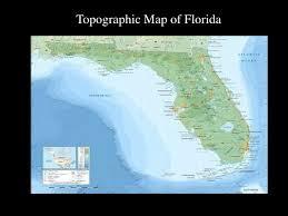 florida topo map florida