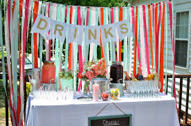 Engagement Party Decoration Ideas Home Not So Newlywed Mcgees Bright Backyard Engagement Party