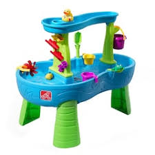 step 2 water table with umbrella sand water tables outdoor play toys toys kohl s