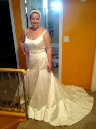 Cap Sleeved Crepe Sheath Wedding Dress David U0027s Bridal Back Detail Wedding Dresses Angel Sanchez Spring 2017 Wedding