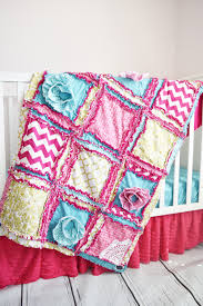 Pink And Teal Crib Bedding by Baby Girl Bedding Crib Set For Girls Teal Gold Pink