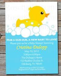 duck baby shower invitations rubber duck baby shower invitations blueklip