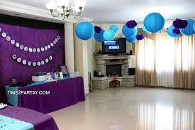 purple baby shower decorations photo time2partay graduation image