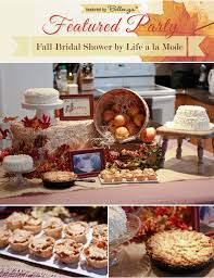 fall bridal shower ideas featured party fall bridal shower with rustic flair by