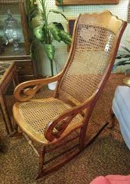 Cane Rocking Chair Cane Bottom Rocking Chair Early Caned Rocker Local Pickup Only For