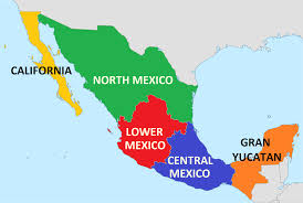 Us Mexico Map Popular 190 List Mexico Map States