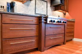 Drawer Cabinets Kitchen by Arts U0026 Crafts Kitchen In Naperville River Oak Cabinetry U0026 Design