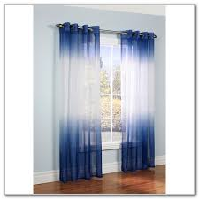 Semi Sheer Curtains With Pattern Curtains Home Design Ideas