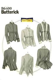 butterick halloween costumes steampunk military jacket butterick 6400 sewing pattern historical