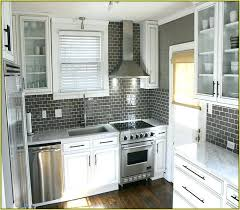 gray kitchen backsplash gray subway tile backsplash light gray subway tile home design ideas