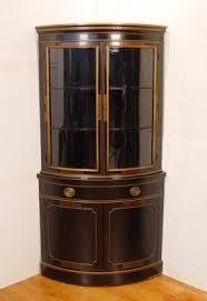 corner china cabinet black foter