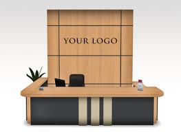 Furniture Reception Desk Second Marketplace Modern Reception Desk Set Nobel