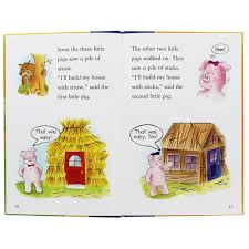pigs book cd gold stars fairy tale