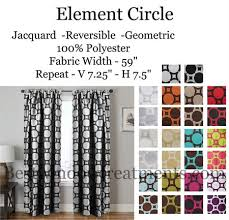 Turquoise And Grey Curtains Element Circle Curtain Drapery Panels Www Bestwindowtreatments Com