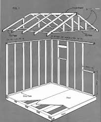 Free Wooden Storage Shed Plans by Best 25 8x8 Shed Ideas On Pinterest Diy Decks Ideas Floating