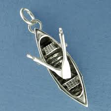 sterling silver guideboat charm handcrafted jewelry u2013 spruce