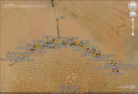 Oasis Map Google Maps Liwa Desert In Abu Dhabi Using Camels