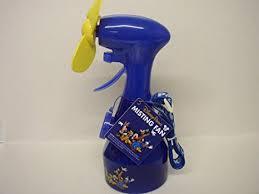water bottle misting fan amazon com disney parks misting fan spray water bottle w lanyard