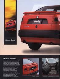 thesamba com vw archives 1996 vw derby brochure mexico