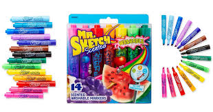 amazon mr sketch washable scented markers 14 count only 4 96