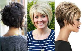 short hairstyles for round faces over 50 hair style and color