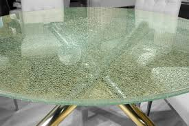 Glass For Table Tops Crackle Glass Table Top A Cutting Edge Glass For Table Tops A