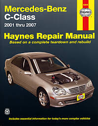 mercedes benz c class 01 07 haynes repair manual haynes manuals