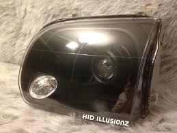 nissan frontier hid headlights hidillusionz lifetime warranty hid retrofit projector headlights