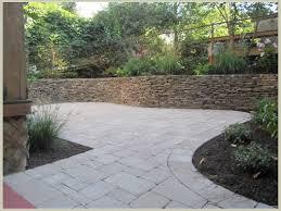 garden small hardscape backyard design feature white limestone