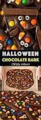easy halloween chocolate bark with video recipe halloween