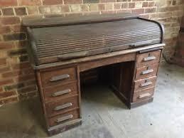 Roll Top Desk Oak Oak Roll Top Desks Ebay