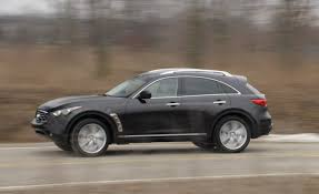 infiniti fx50 2016 2009 infiniti fx50 short take road test reviews car and driver