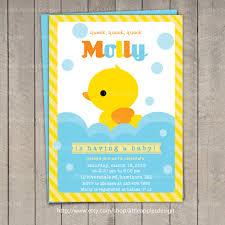 baby shower duck theme theme duck baby shower invitations