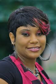 plus size hairstyles for african american women stunning short haircut one side long plus size african american